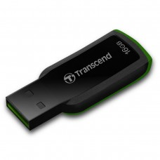 USB Flash Drive 16Gb Transcend 360 Black-Green / 15/7Mbps / TS16GJF360